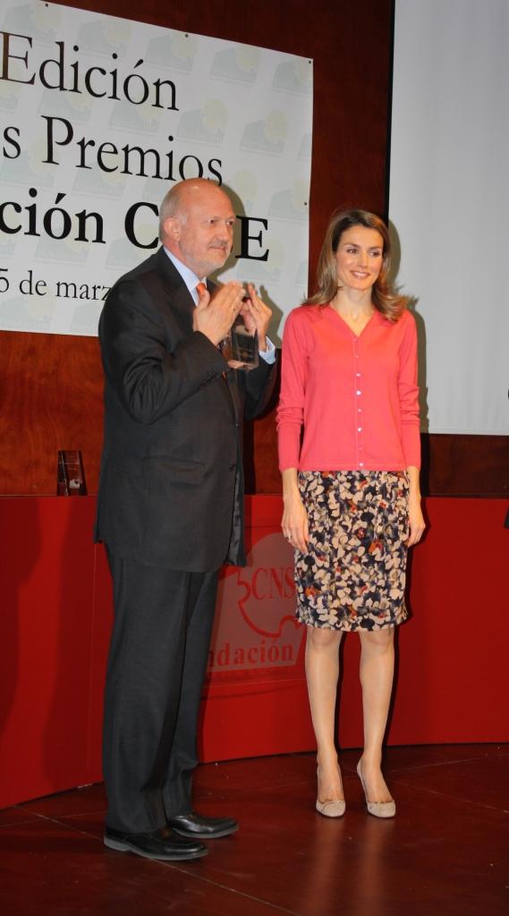 Premio Institucional Fundación CNSE-marzo 2012