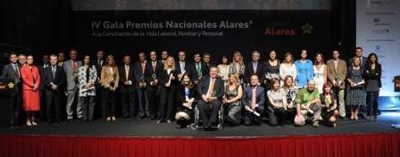 IV Premio Alares (2010) a la Conciliación de la Vida Laboral, Familiar y Personal - junio 2010