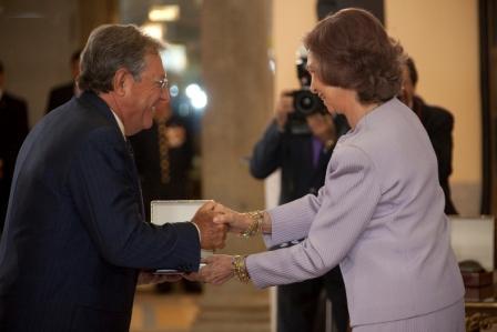 medalla de la Escuela Superior de Música Reina Sofía, junio 2010
