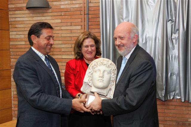 Premio a las Signoguías del Museo Romano - Sept. 2009