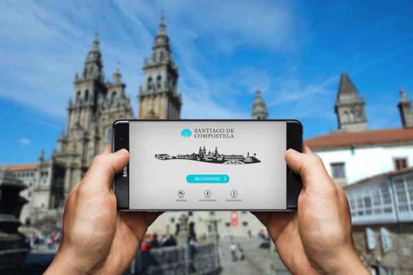 Visita Santiago de Compostela con Áppside