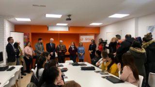 Inauguración aula León