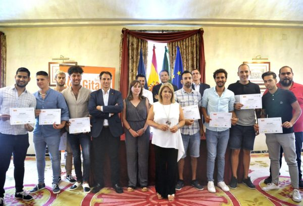 Clausura curso de fibra en Jerez