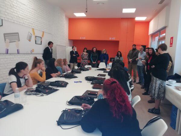 Aula Digital Fundación Secretariado Gitano Málaga