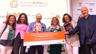 Premio a a equidad educativa grandes profes